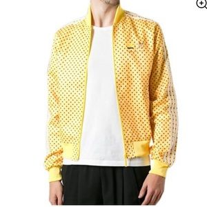 Adidas x Pharrell Williams Yellow Adidas Jacket